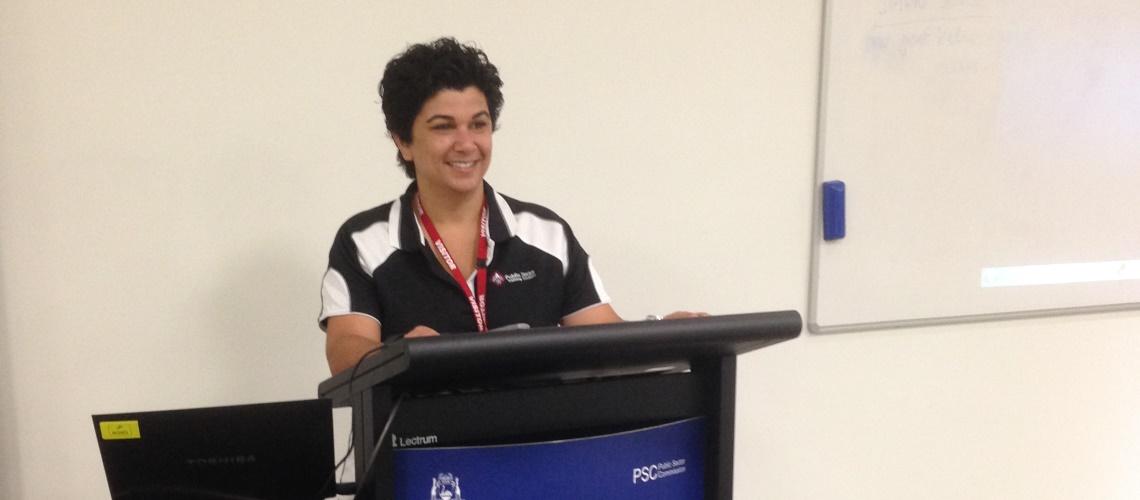 Sonya Krishnan at PSC